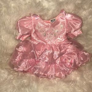 Baby Girl SZ 12M Pageant Dress Light Pink NWOT